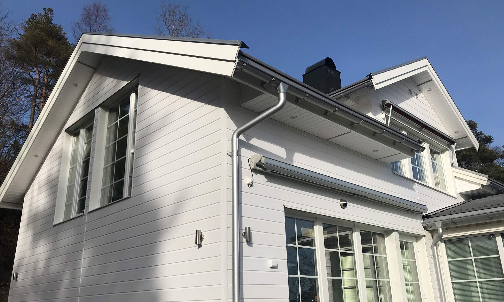 Oncewall fasad rogers hus
