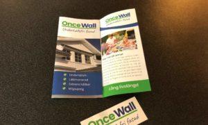 En liten broschyr OnceWall