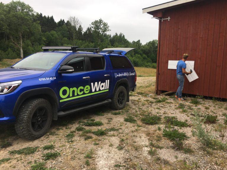 punktbelastnings test OnceWall